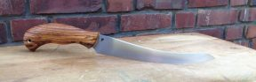 I have been playing around with filet knives for different customers lately, and came out with this kind, which I like much.